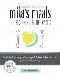 Mila's Meals Front Cover