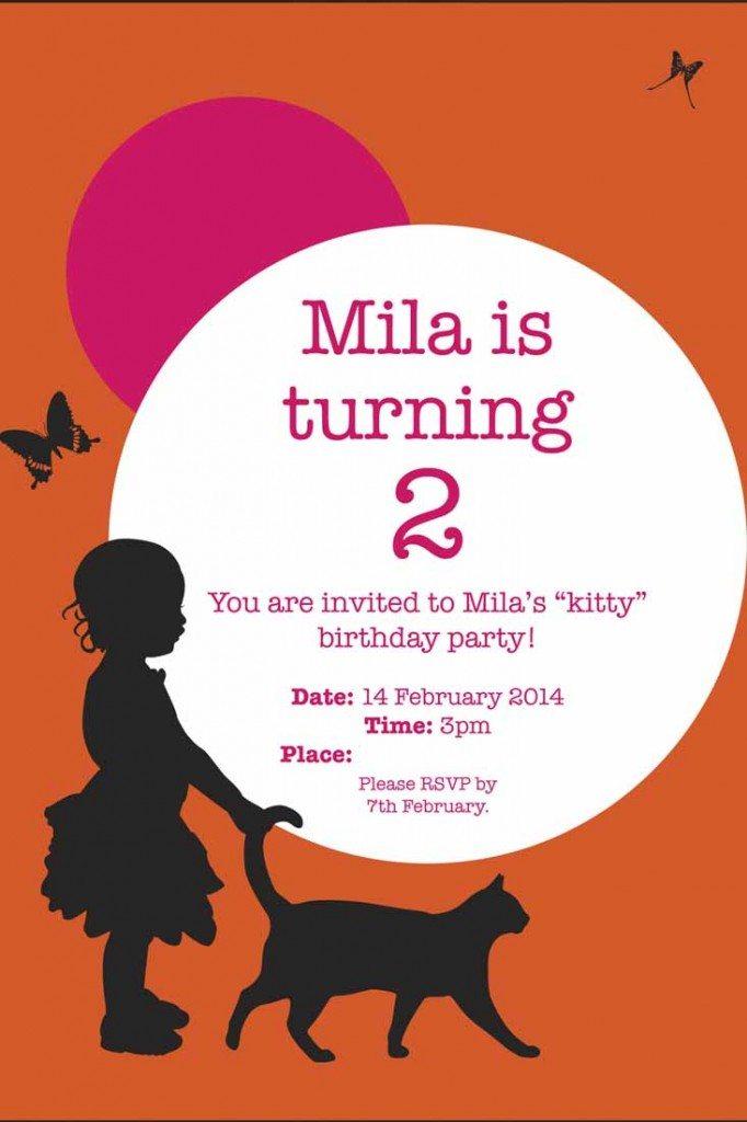 Mila\'s Meals - Kitty Party Invitation - Mila\'s Meals