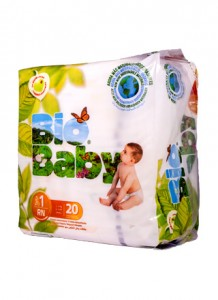 Bio Baby Biodegradable Disposable Nappies