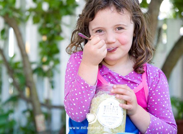 Mila's cousin loves her Sauerkraut