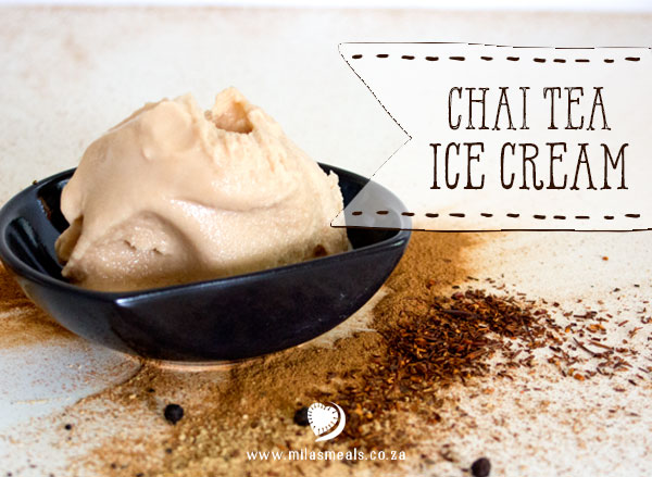 Dairy-free Chai Tea Ice Cream