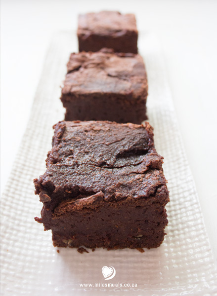 Mila's Meals Chocolate Brownies
