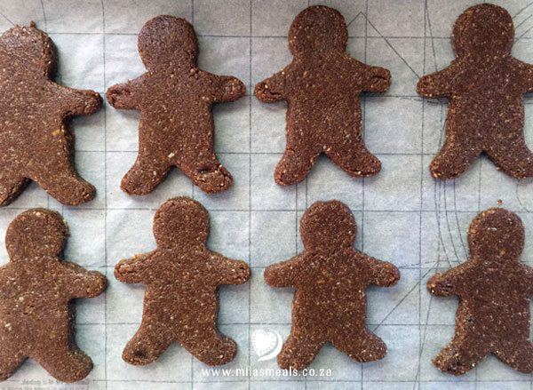 gingerbread men ready for the oven