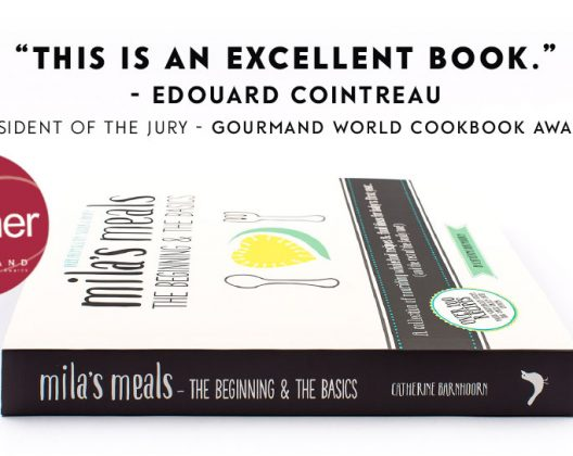 Mila's Meals: The Beginning & The Basics wins Gourmand World Cookbook Award