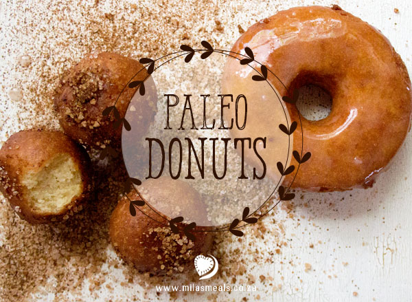 Mila's Meals Paleo Doughnut Recipe