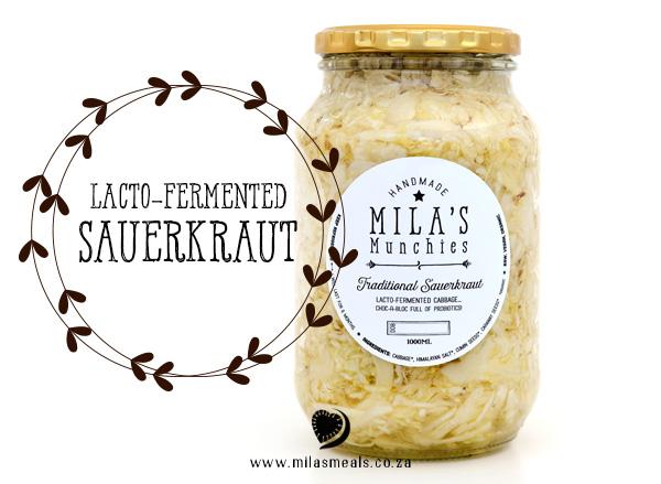 Mila's Munchies Sauerkraut