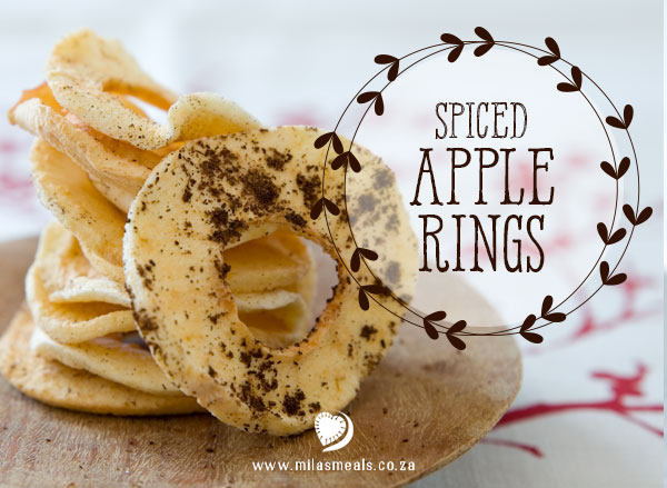 Spiced Apple Rings