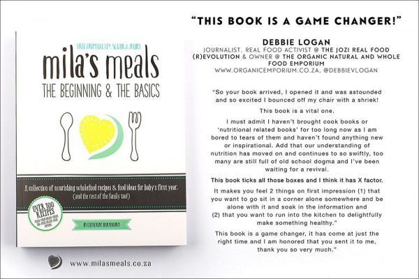 Mila's Meals: The Beginning & The Basics Feedback