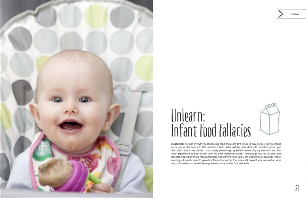 Unlearn: Infant Food Fallacies chapter.