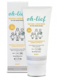 Organic Baby-Care Products - Natural Sunscreen