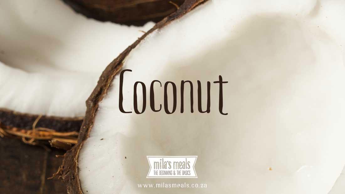 coconut nutrition information