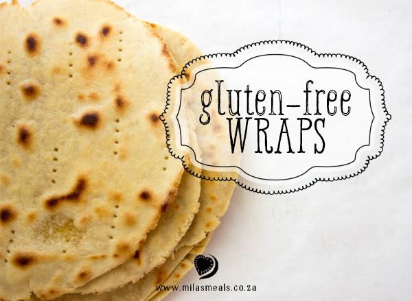 Mila's Meals Gluten-Free Wraps