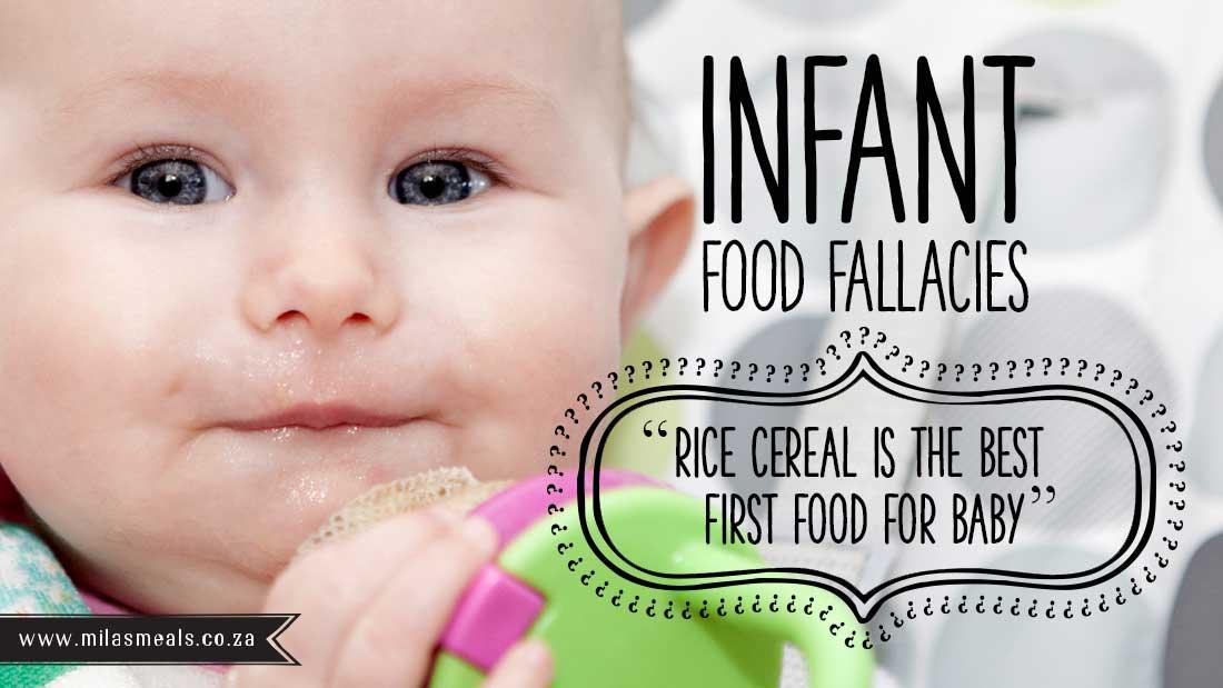 Unlearn Infant Food Fallacies