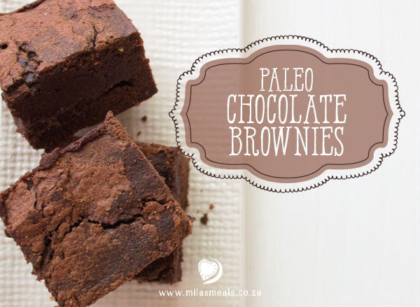 Mila's Meals Chocolate Brownie Recipe