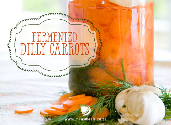 Mila's Meals Dilly Carrots