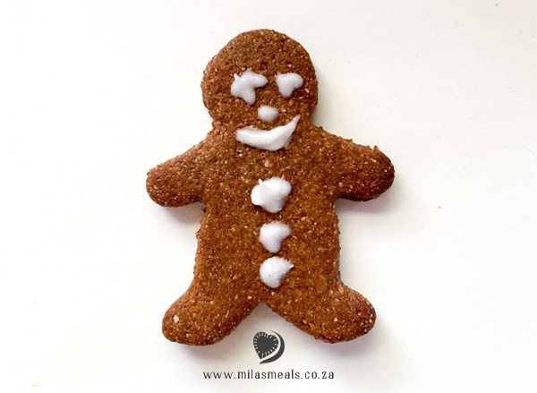 Mila's Meals Gluten-free Gingerbread Man
