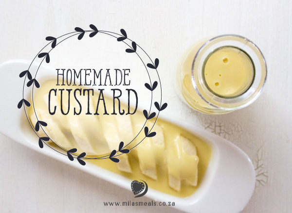 Mila's Meals Homemade Custard