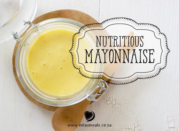 Mila's Meals Nutritious Mayonnaise