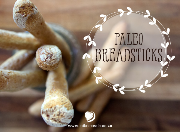 Mila's Meals Paleo Breadsticks
