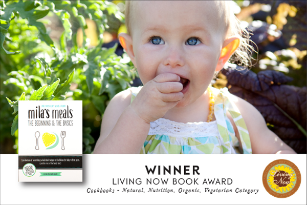 Mila's Meals wins Living Now Book award