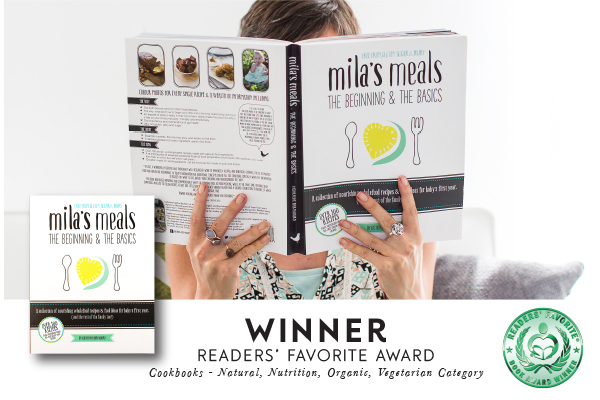 Mila's Meals wins Readers' Favorite Book Award