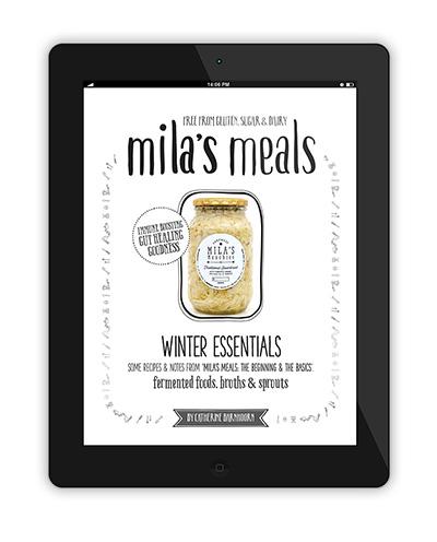 Mila's Meals Winter Essentials Recipes