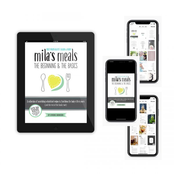 Mila's Meals eBook Phone iPad