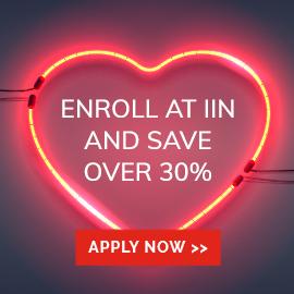 IIN Valentines Day 30% discount
