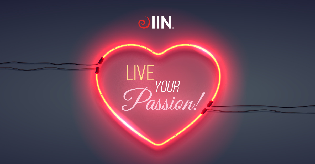 IIN Live Your Passion
