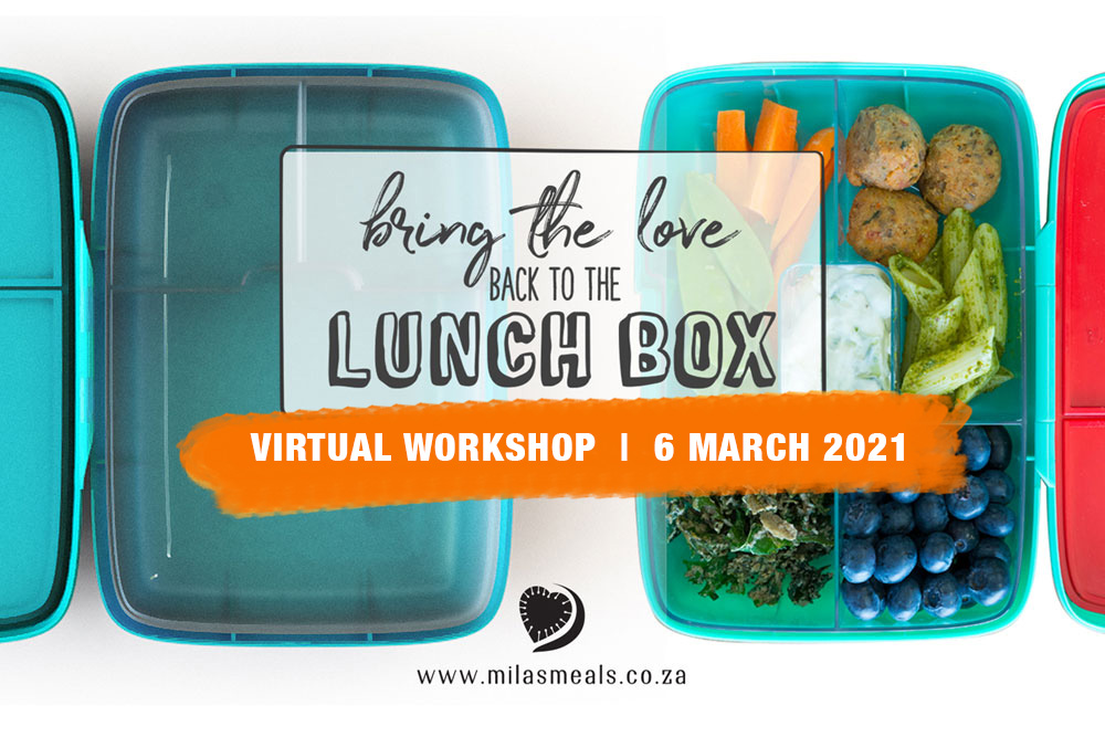 Mila's Meals Lunch Box Workshop virtual